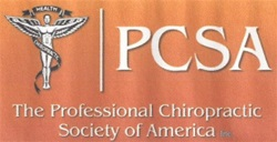 Professional Chiropractic Society of America (PCSA) membership.<br /><br />